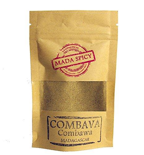 "Lima kaffir « combava » en polvo 40g de Madagascar "" Gourmet Calidad "". Bolsita eco cierre zip."