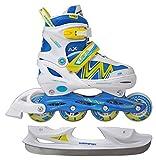 Axer Sport, 2in1 Inline skates, Schlittschuhe LENA Gr. 39-42