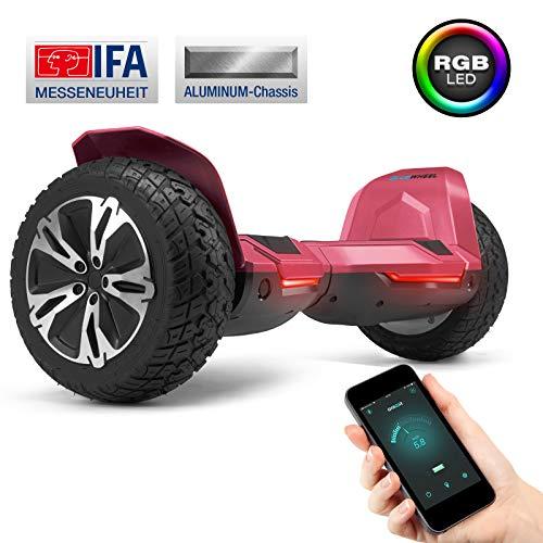 """8.5"""" Premium Offroad Hoverboard Bluewheel HX510 SUV - Deutsche Qualitäts Marke - Kinder Sicherheitsmodus & App - Bluetooth - Starker Dual Motor - Aluminium Case Elektro Skateboard Self Balance Scooter"""
