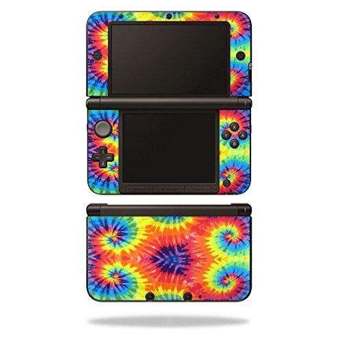 mightyskins Haut für Nintendo Schutz, langlebig, und einzigartige Vinyl Aufkleber WRA Tie Dye 2 3DS XL -
