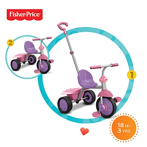 Fisher Price 335-0233 - Dreiräder Glee, pink