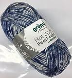 Gründl Hot Socks Pearl color – Fb. 04, weiche Wolle mit Kaschmir, nicht nur zum Socken stricken