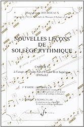 Nouvelles Lecons de Solfege Rythmique Volume 5