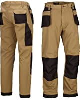 Mens Work Trousers Multi Pocket Trade Extreme Pro Pants Triple Stitched Workwear Adults FREE DELIVERY