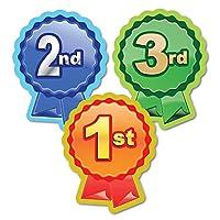 "Sticker Solutions""1st, 2nd, 3rd Rosette"" Sticker (Pack of 60)"