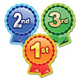 "Sticker Solutions ""1st, 2nd, 3rd Rosette"" Sticker (Pack of 60)"
