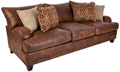 Franklin Furniture Indira Sofa, groß, Walnuss - Sofa Franklin Möbel