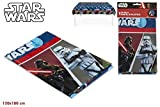 Colorbaby, 71910, mantel de plastico star wars para fiestas y cumpleaños, 120x180 cms