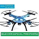 Drone Syma X5HC con Cámara HD | Evolución SYMA X5C | Control de Altura | 2 Velocidades