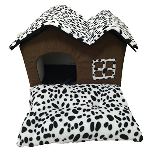 Cuccia per cane, Culater Cane Gatto Letto Morbido Cuscino Casa Calda Kennel Dog House Mat Coperta