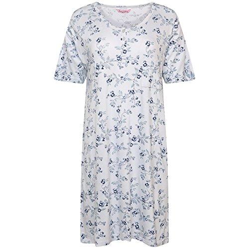 Indigo Sky -  Camicia da notte  - Donna Stripe