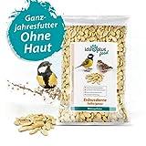 Ida Plus Erdnusskerne 1,5 Kg - Wildvogelfutter aus halben/ganzen Erdnüssen - ohne Haut - Energie- &...
