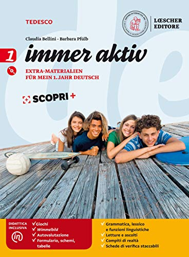 Immer aktiv. materiali di recupero e rinforzo. per la scuola media. con e-book. con espansione online. con cd-audio: 1