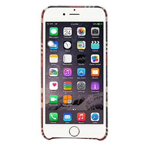 Phone case & Hülle Für iPhone 6 / 6s, Scotisieren Tuch Schutzmaßnahmen zurück Fall ( SKU : IP6G0040B ) IP6G0040D