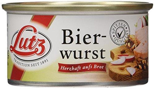 Lutz Bierwurst, 6er Pack (6 x 125 g)