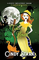 Twice Hexed: A Cozy Mystery (Teas and Temptations Book 2) (English Edition)
