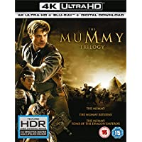 The Mummy Trilogy [4K ultra HD + Blu-ray] [2017]