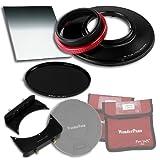 WonderPana 66 FreeArc Essentials ND 0.6SE Kit - Rotating 145mm Filter System Holder, Lens Cap, Fotodiox Pro 6.6