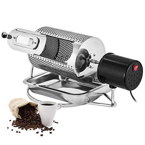 HRRH Kaffeeröster,40 watt heimgebrauch Kaffeebohne Röster Maschine, Edelstahl Kaffeebohnen Röstmaschine Erdnüsse, 110 V / 220 V
