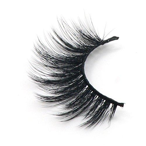 Arison Lashes 3D 100% Handgefertigte Künstliche Wimpern Synthetische Natürliche Blick Augen Falsche Wimpern (1 Paar) ¡ -