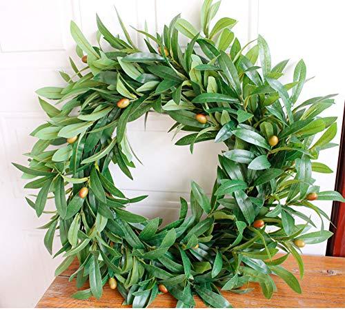SYT Christmas Großer hängender Kranz des Blumenkranzes der Blumenkranz 55cm -