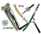 Teorema Giochi VD63141 Set Ninja Piccolo Samurai, 10 Pezzi, Multicolore