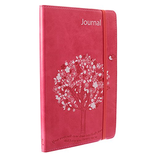Journal - Lux-Leather - Pink T