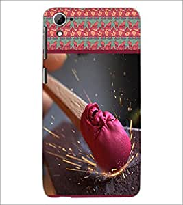 PrintDhaba Match Stick D-3767 Back Case Cover for HTC DESIRE 826 (Multi-Coloured)