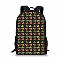 Showudesigns Animal Design Teen Girls School Backpack for Primary Schoolbag Bookbag