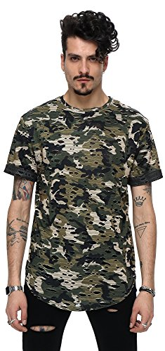 pizoff-men-t-shirt-summer-camouflage-camouflage-long-length-torn-hole-layered-style-hip-hop-unisex-c