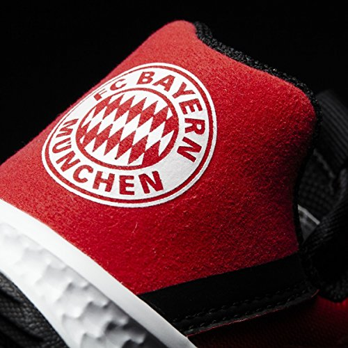 adidas Rapidaturf Fcb K, Chaussures de Fitness Mixte Enfant Rouge (Rojfcb/negbas/ftwbla)