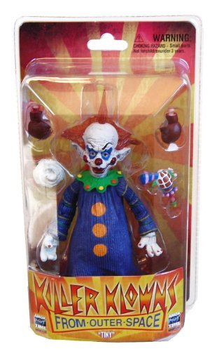 KILLER KLOWNS FROM OUTER SPACE TINY DELUXE 18CM ACTIONFIGUR (Space Outer Klowns From Killer)