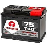 Autobatterie 75Ah 750A +30% mehr Leistung Starterbatterie ersetzt 70Ah 72Ah