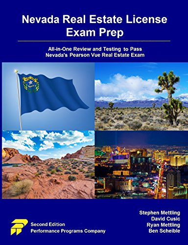 Nevada Real Estate License Exam Prep: All-in-One Review and Testing to Pass Nevada's Pearson Vue Real Estate Exam (English Edition)