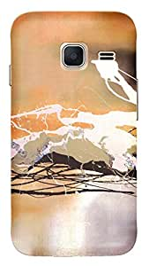 TrilMil Printed Designer Mobile Case Back Cover For Samsung Galaxy J1 Mini