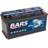 Bars Silver Autobatterie 12V 110Ah 920A Starterbatterie Wartungsfrei