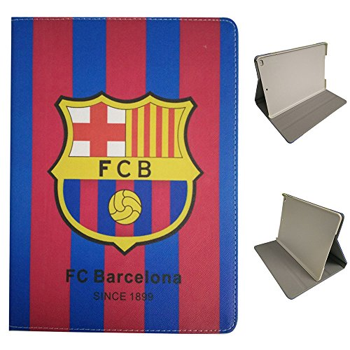 iPad 2 Etui,iPad 3 Etui,iPad 4 Etui, UK-Cherry Real Madrid Barcelona Chelsea Manchester United AC Milan Liverpool Arsenal Football Team-Team-Logo Hülle Abdeckung Aus Synthetischem PU Leder Mit Unterstützung für Apple iPad 2 3 4 ( FC Barcelona ) (Manchester United Ipad)