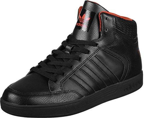 adidas Varial Mid, Chaussures de Skateboard Mixte Adulte, Weiß Noir (Core Black/Core Black/Native Orange)