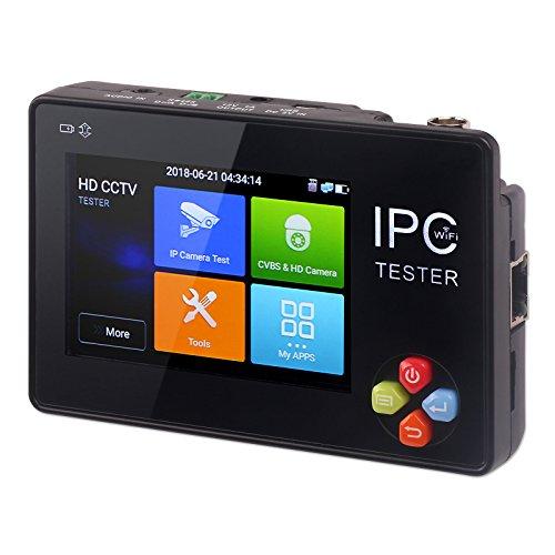 trunite Kamera Tester, 8,9cm CCTV Analog CVBS IP Kamera Monitor Touchscreen Wifi für ONVIF Axis HIKVISION Dahua Axis-cctv-kameras