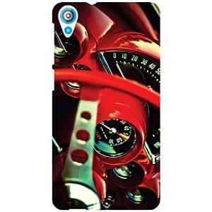 HTC Desire 820 Back Cover - Lock Your Car Designer Cases