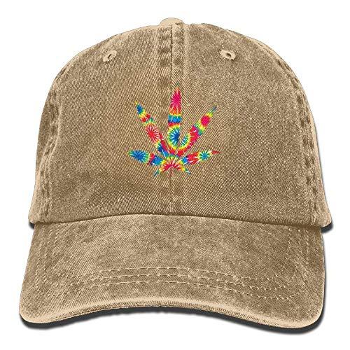 Preisvergleich Produktbild Weed Leaf Tie Dye Adult Cowboy HAT