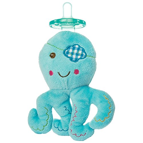 Mary Meyer bambino Buccaneer 15 centimetri Wubbanub Octopus Toy Ciuccio