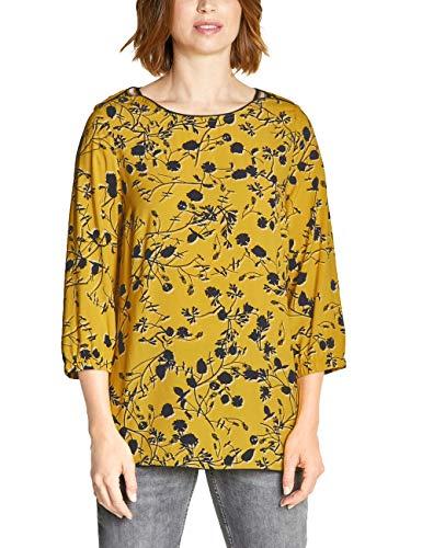 Cecil Damen 341611 Bluse, Ceylon Yellow, Large (Herstellergröße:L)