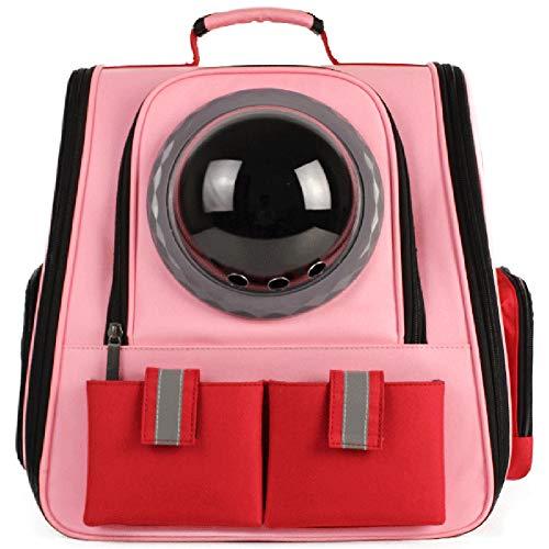 Haustier-Fördermaschine, Katze-Hundewelpen-Reise Wandern Camping Pet Carrier Rucksack, Raumkapsel Blasen-Entwurf, wasserdichter Soft-seitig Handtasche Rucksack für Katze und kleine Hunde Farben zur -