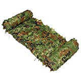 HUI JIN 2x 3m de Chasse Militaire de Camouflage Filets Woodland armée Camo Filet de Voiture couvertures Tente Abri Soleil