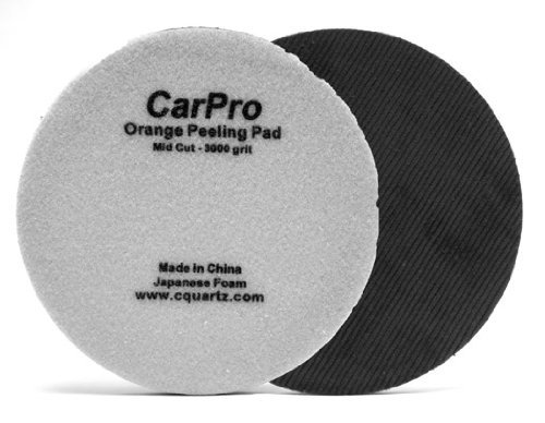 Velvet Orange Peel Removal Pad - 5.25 Inches 2 Pack by CarPro -