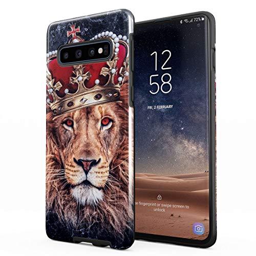 Funda Para Samsung Galaxy S10 Plus Jungle King Queen