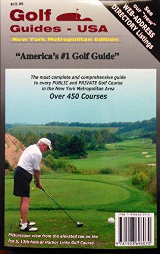 Golf Guides USA: New York Metropolitan Edition
