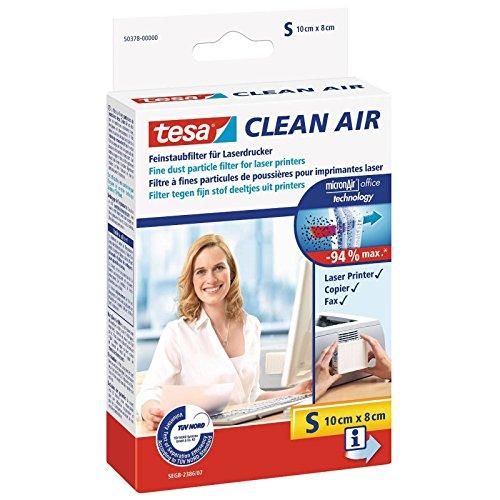 Preisvergleich Produktbild tesa Clean Air Feinstaubfilter, Größe S 100 : 80, 2 Stück