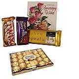 Anniversary Wishes With 24 Pcs Ferrero Rocher